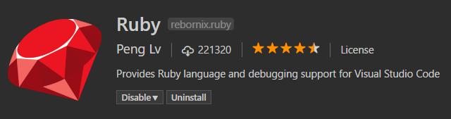 Ruby plugin
